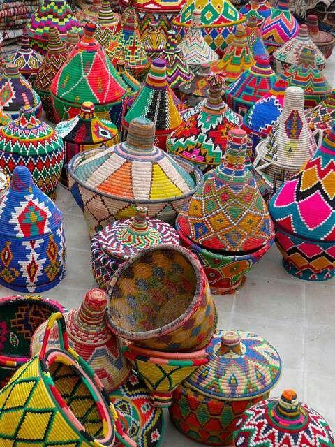 La vannerie, l'art de  tressage au Maroc 6