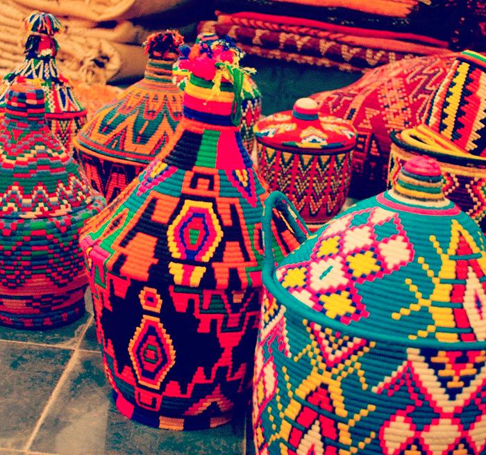 La vannerie, l'art de  tressage au Maroc 3