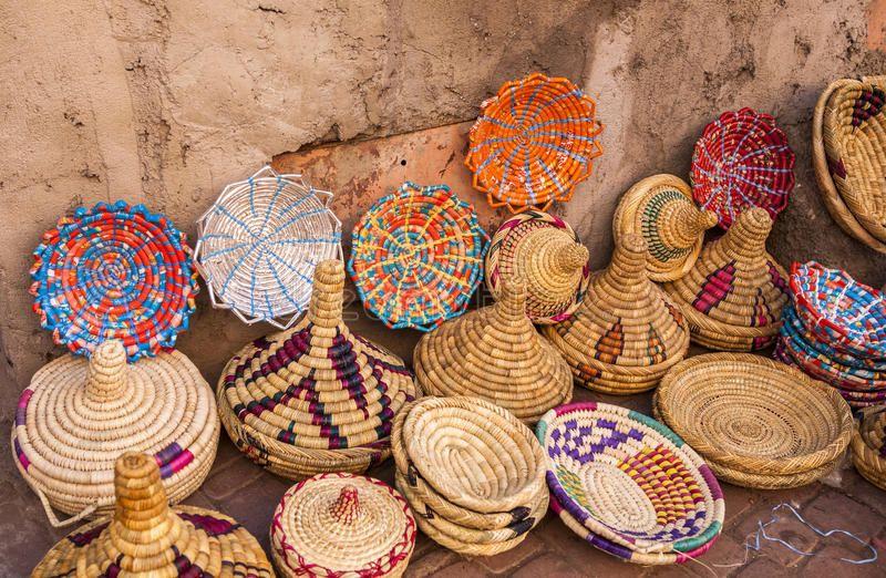 La vannerie, l'art de  tressage au Maroc 4