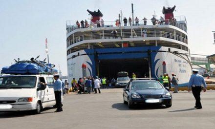 Opération spéciale de transport de passagers en provenance des ports autorisés