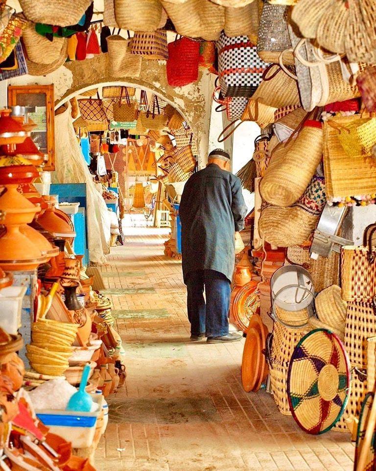 La vannerie, l'art de  tressage au Maroc 2