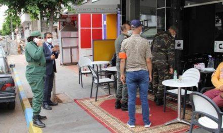 Kelaâ des Sraghna : Des cafés et commerces fermés pour non-respect des mesures sanitaires