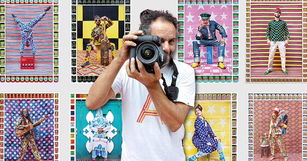 L'artiste photographe Hassan Hajjaj expose ses œuvres à Séoul