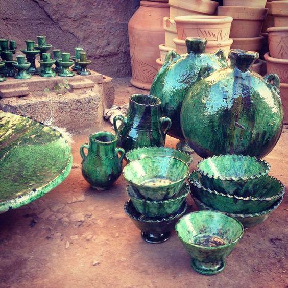 Tamegrout et ses célèbres poteries vertes 4