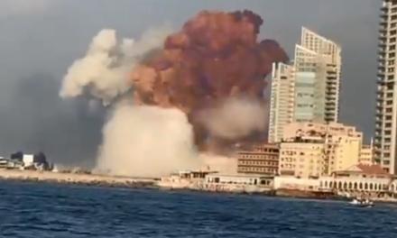 Liban: Forte explosion entendue à Beyrouth (Vidéos)