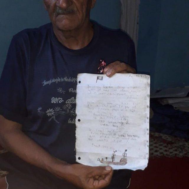 Incroyable mai vrai; une bouteille jetée à la mer aux  Etats-Unis retrouvée au Maroc