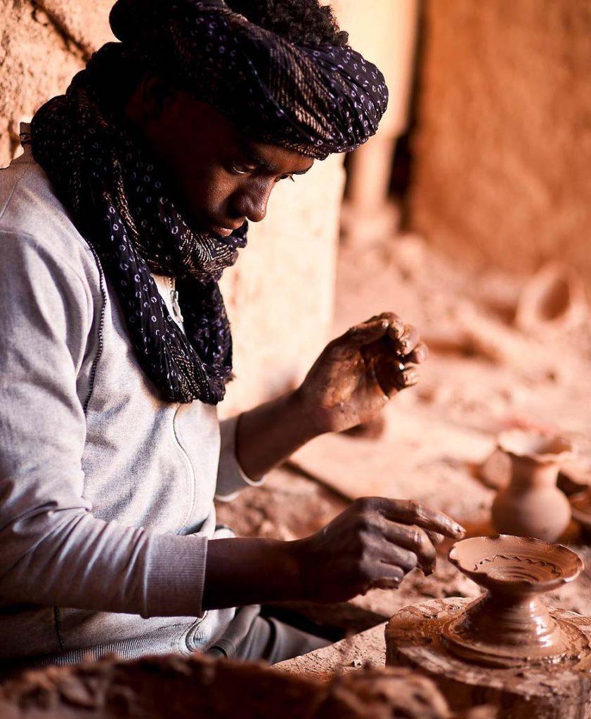 Tamegrout et ses célèbres poteries vertes 1
