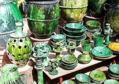 Tamegrout et ses célèbres poteries vertes