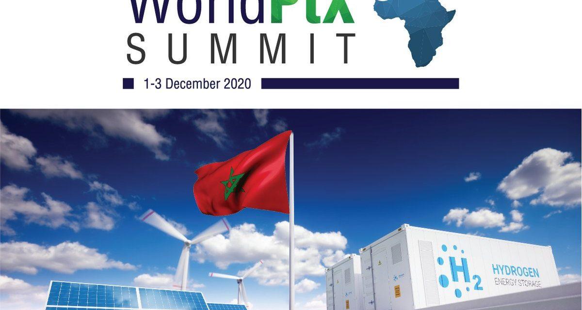 Le World Power-to-X Summit 2020 en décembre à Marrakech