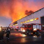 Important incendie dans un dépôt de stockage A CASABLANCA