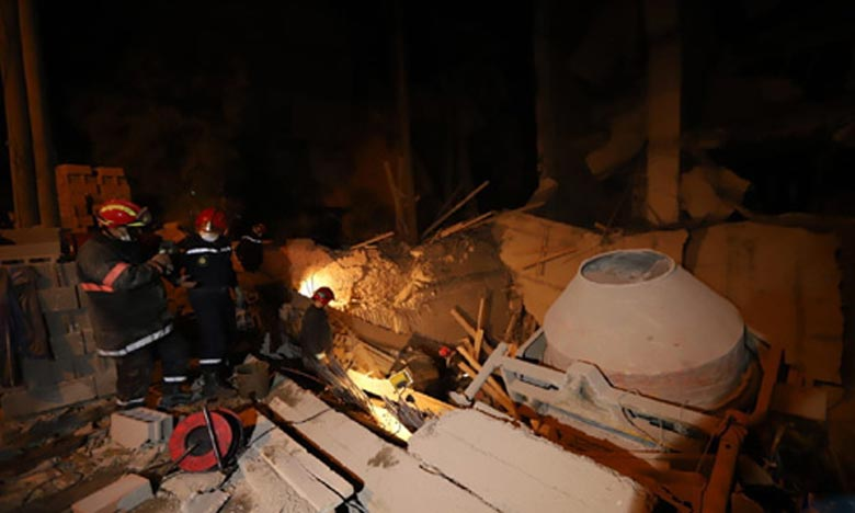 Marrakech: Un mort dans l'effondrement de la façade d'un bâtiment en construction