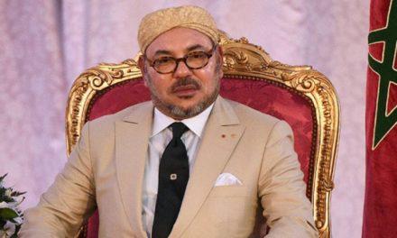 Message de condoléances et de compassion de SM le Roi à la famille de Adnane Bouchouf