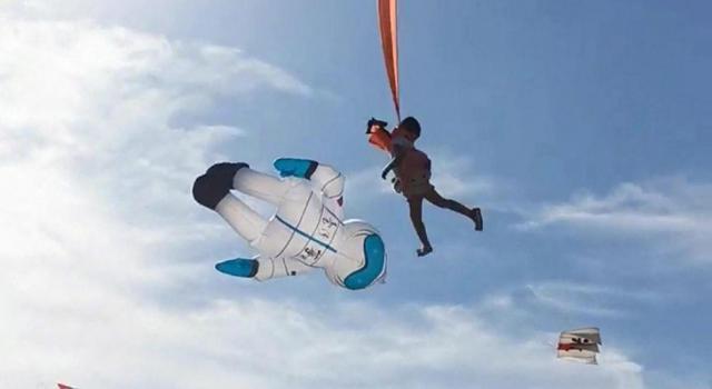 Taïwan : une petite fille de 3 ans emportée par un cerf-volant géant