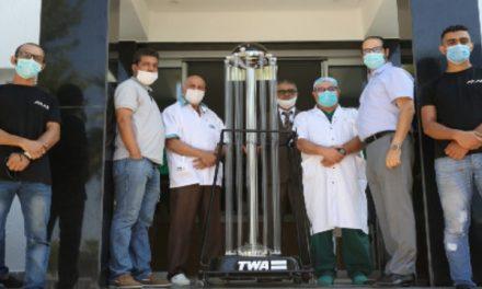 Fès : Une entreprise développe des machines de désinfection par ultraviolet