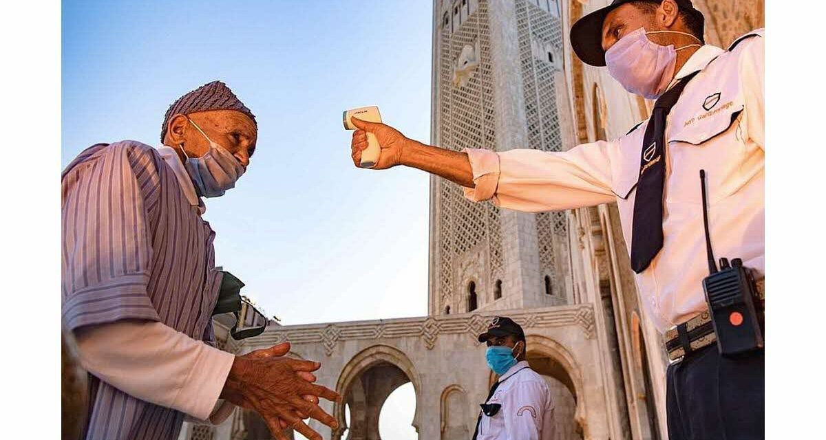 covid-19/maroc: 1.402 nouveaux cas confirmés et 866 guérisons