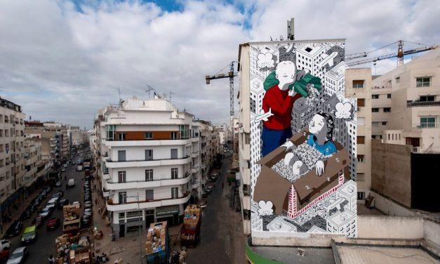 les CasablancaIS surpris par la disparition d'une fresque murale