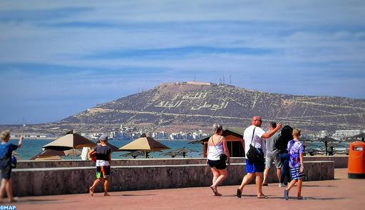 Les premiers touristes étrangers reviennent à Agadir 2