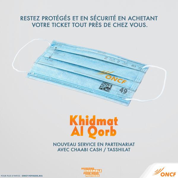"""L'ONCF lance """"Khidmat Al Qorb"""", un nouveau service de proximité client"""
