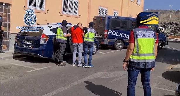Démantèlement d'une cellule terroriste EN ESPAGNE avec la collaboration du Maroc
