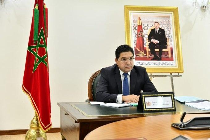 Nasser Bourita s'est entretenu par vidéoconférence avec la Ministre espagnole des Affaires Etrangères