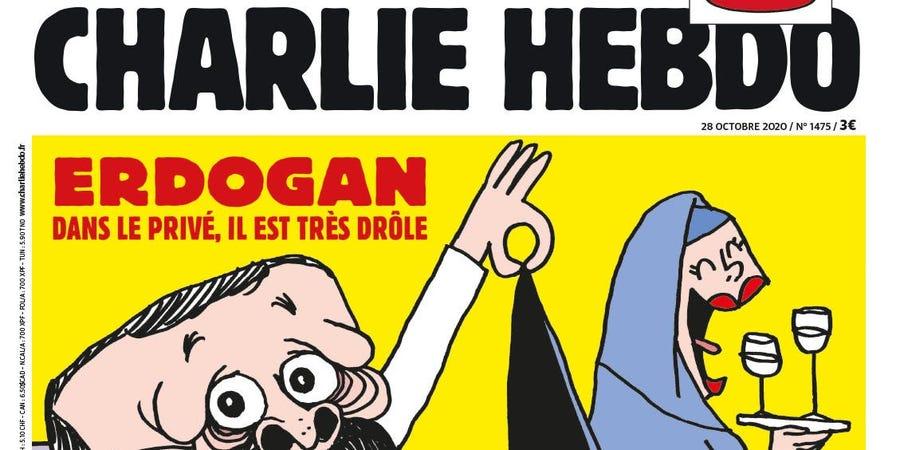 Une caricature d'Erdogan en Une de Charlie Hebdo provoque la colère d'Ankara 1