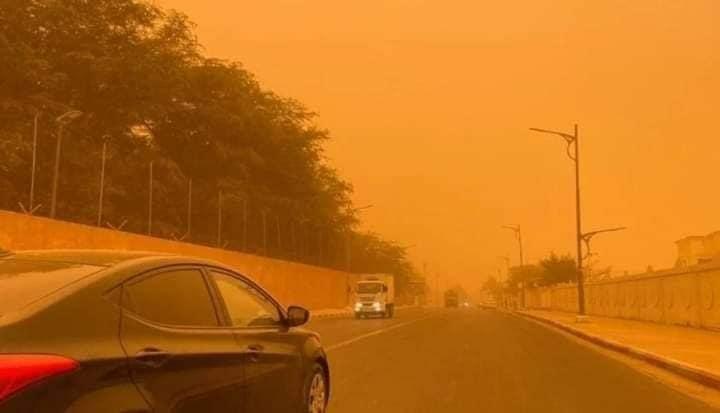 violente tempête de poussière à Casablanca 4