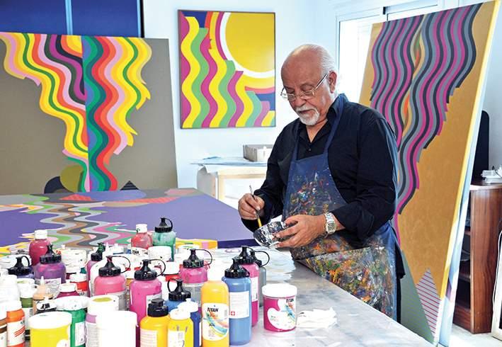 Décès à Paris de l'artiste peintre marocain Mohamed Melehi des suites du Coronavirus