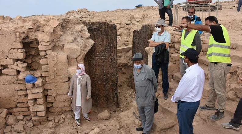 Agadir : découverte du portail de la Kasbah d'Oufella 2