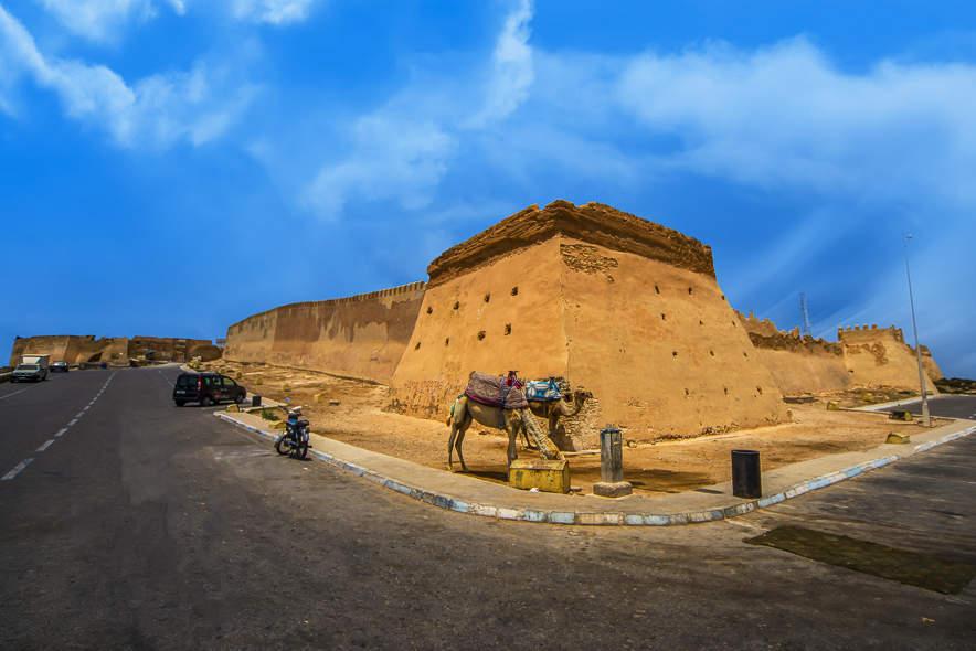 Agadir : découverte du portail de la Kasbah d'Oufella 3