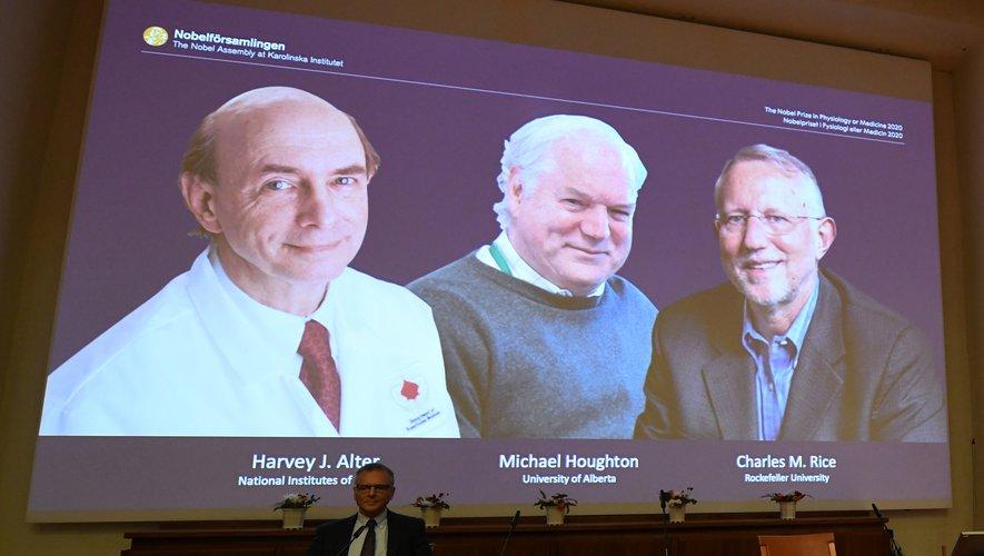 Le prix Nobel de médecine attribué à trois scientifiques pour la découverte du virus de l'hépatite C