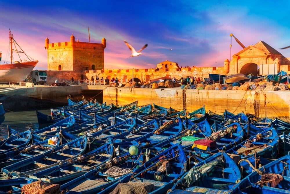 Essaouira accueille un premier groupe de touristes 1
