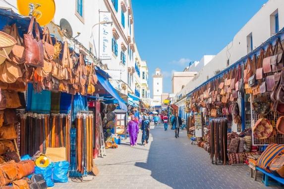 Essaouira accueille un premier groupe de touristes 2