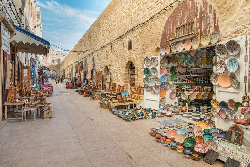 Essaouira accueille un premier groupe de touristes 3