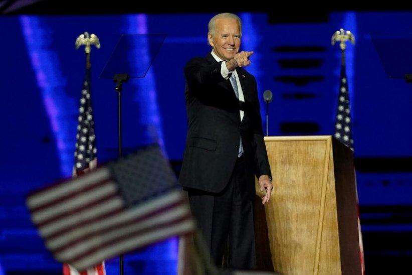 """Joe Biden promet de """"guérir l'âme de l'Amérique"""""""