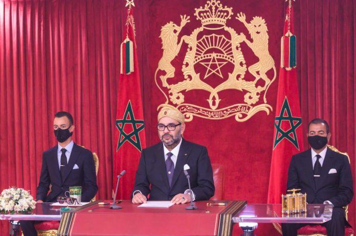 Discours Royal : le Roi réaffirme l'engagement de faire des provinces du sud un moteur de développement régional et continental