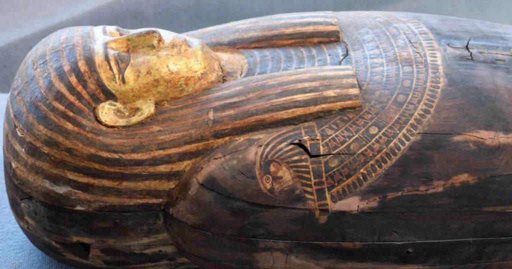 Nouvelle découverte exceptionnelle d'une centaine de sarcophages en Égypte 3