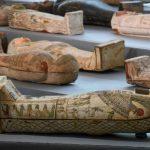 Nouvelle découverte exceptionnelle d'une centaine de sarcophages en Égypte