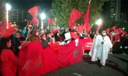Tarragone : Imposante manifestation des Marocains pour dénoncer les actes de violence du polisario