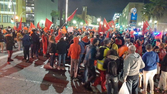 Tarragone : Imposante manifestation des Marocains pour dénoncer les actes de violence du polisario 1