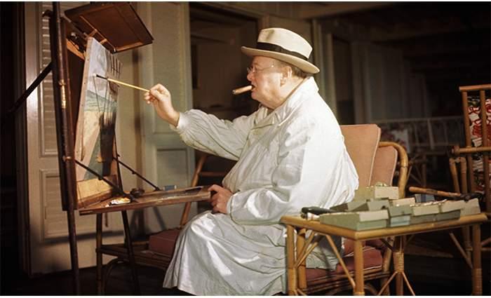 Le célèbre tableau «Scene at Marrakech, circa 1935» de Churchill mis aux enchères 1