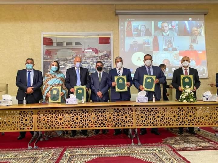 Guelmim: Signature d'une convention pour encourager les jeunes à l'entrepreneuriat