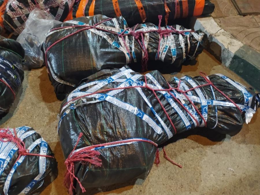 Laâyoune: Saisie de près de 2 tonnes de chira destinées au trafic international, 4 individus interpellés 1