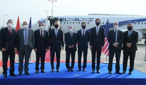 DÉPART DU PREMIER VOL COMMERCIAL DIRECT ENTRE ISRAËL ET LE MAROC