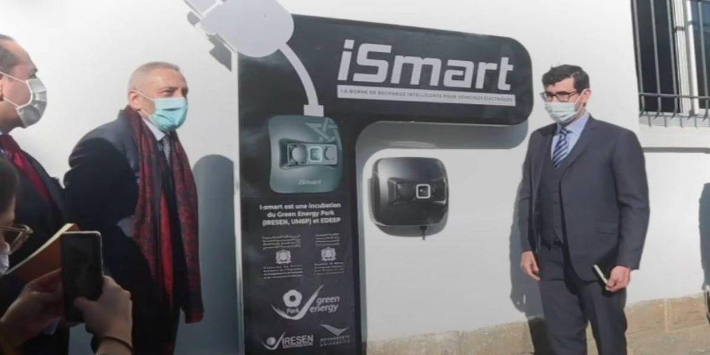 1ère borne de recharge intelligente pour voitures électriques 100% marocaine 1