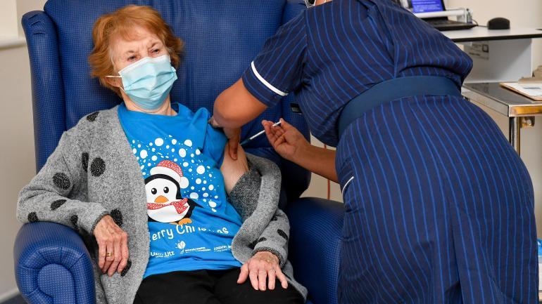 Le Royaume-Uni a démarré sa campagne de vaccination contre le Covid-19
