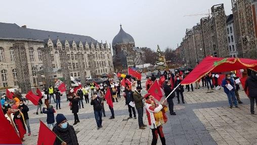 Les Marocains de Wallonie et de Luxembourg se mobilisent pour la défense de la cause nationale