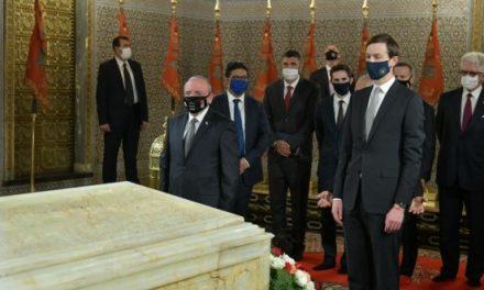 Une délégation américano-israélienne de haut niveau visite le Mausolée Mohammed V à Rabat