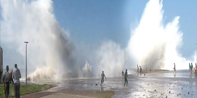 Vagues dangereuses de 4 à 6 mètres à partir de vendredi sur les côtes atlantiques entre Assilah et Tarfaya 1