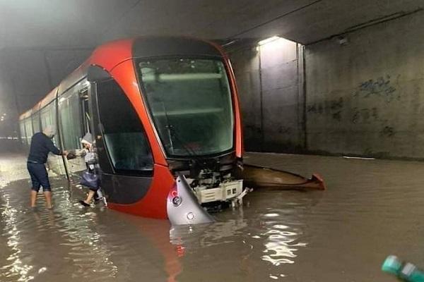 Réunion d'urgence pour les pluies torrentielles à Casablanca