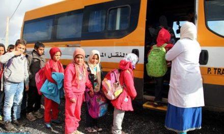 Benslimane: Le transport scolaire comme remède à l'abandon scolaire